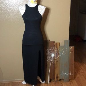 XS American Eagle Outfitters black dress